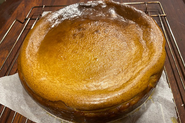 Article image for Adrian Richardson's salted caramel cheesecake