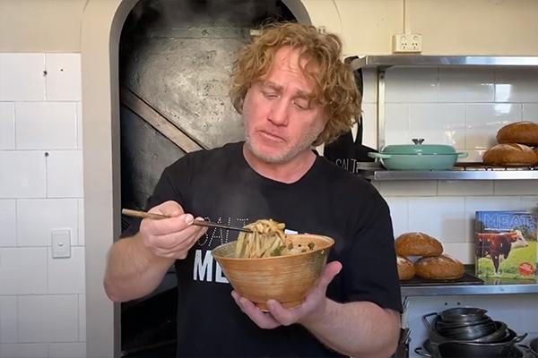 Article image for Adrian Richardson's handmade dan dan noodles