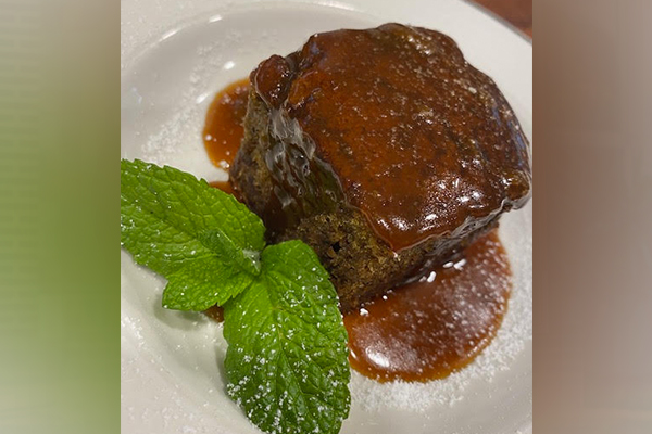 Article image for Adrian Richardson's quick and easy sticky date pudding with butterscotch sauce