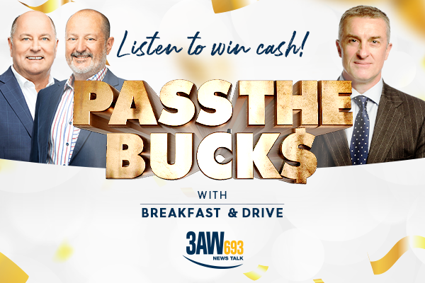 3AW Pass the Bucks!