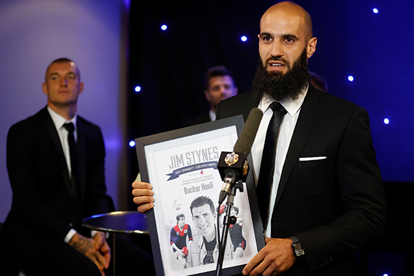 Article image for Bachar Houli on life after footy and that retirement rumour