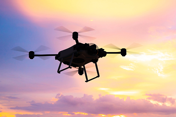 Vice president of Victoria Liberty says drones are a 'significant incursion of people's privacy'