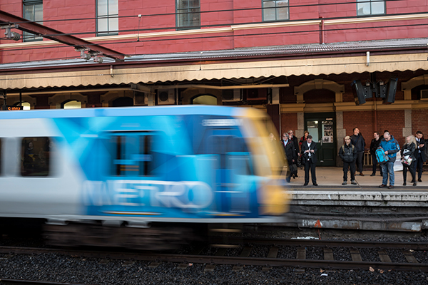 Article image for Government concedes there'll be pain for passengers on Frankston line as works get completed