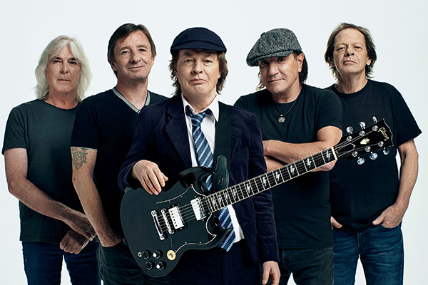 Article image for Angus Young on AC/DC's new album, decades of music and memorable gigs
