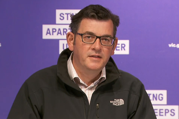 Article image for Business leader slams Daniel Andrews for 'knee-jerk' border closure
