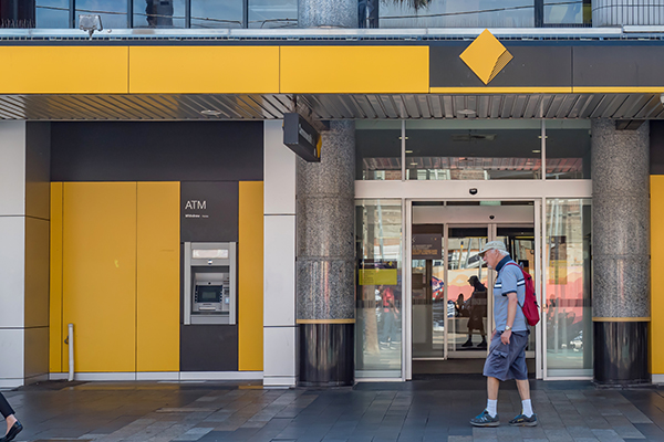 Article image for Commonwealth Bank launches 'quite clever' new logo
