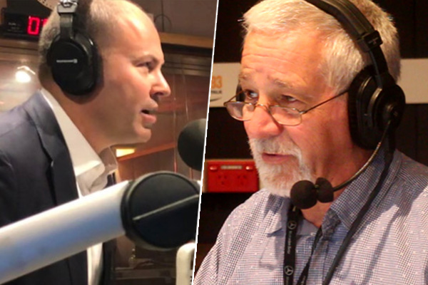 Article image for Neil Mitchell grills Josh Frydenberg over federal budget