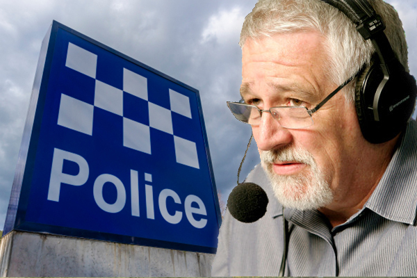 Article image for Why Neil Mitchell thinks police should 'stop being nice'