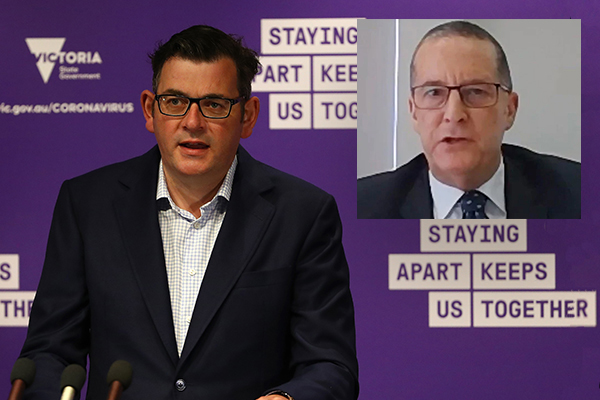 Article image for Daniel Andrews 'shocked' as top public servant resigns