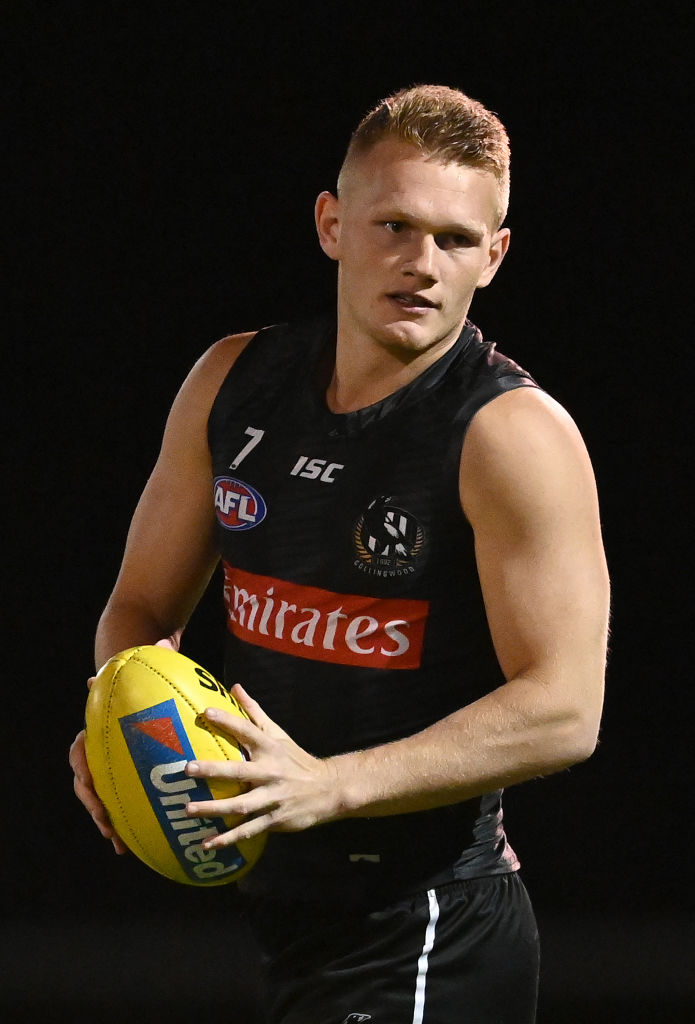 Article image for Pies yet to address Adam Treloar trade talk