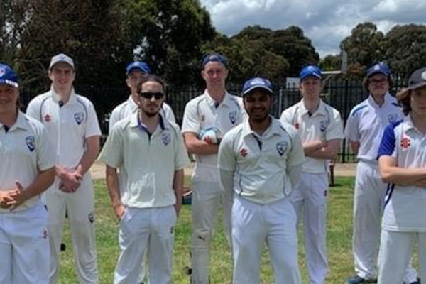 Article image for Roo recruit spotted playing local cricket!