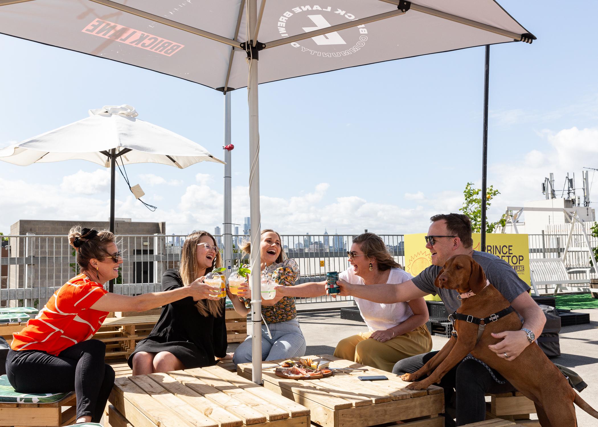 Kate's Week in Food: New rooftop beer garden + Port Phillip ferries back on deck