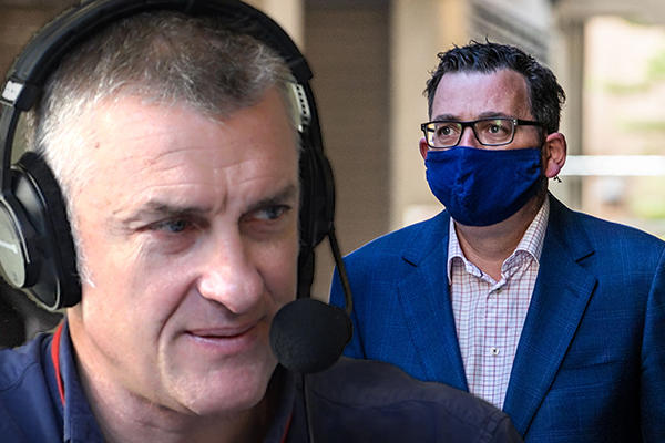 Article image for 'Daniel Andrews, if you're listening…'   Tom Elliott's question for the Premier