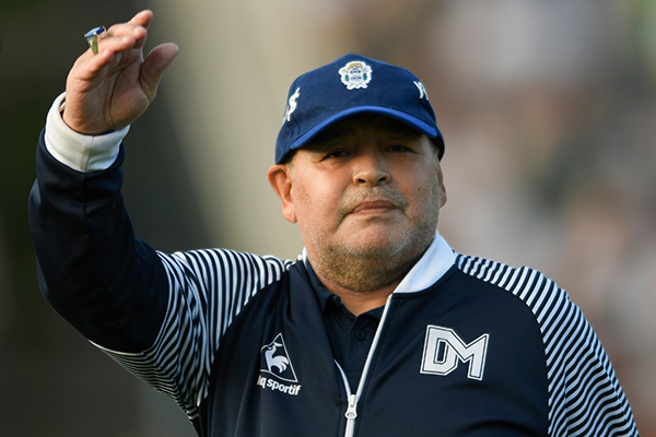 Article image for 'Enormous sadness': Buenos Aires reacts to death of soccer legend Diego Maradona