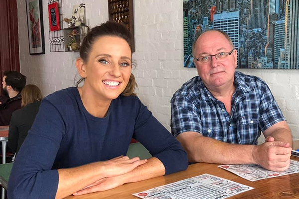 Article image for Bye, Kate! 3AW Breakfast's emotional farewell to producer Kate Stevenson