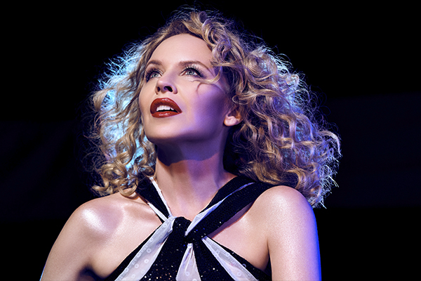 Article image for Kylie Minogue on blue light discos and finishing an album at home