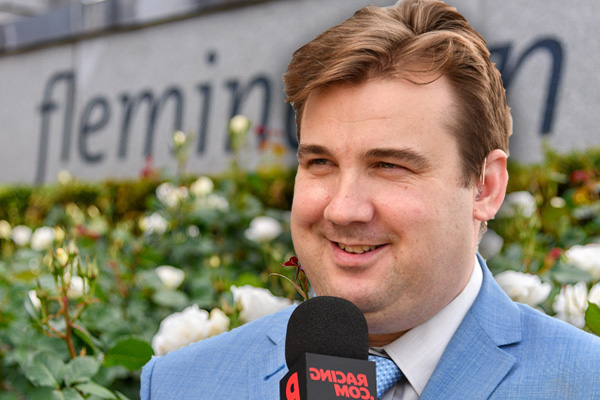 Article image for What Melbourne Cup race caller Matt Hill does when he makes a mistake