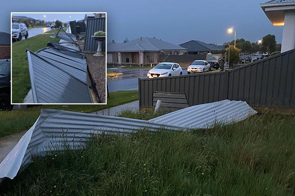 Article image for 'Like a bit of a war zone': 'Mini tornado' tears through new Ballarat housing estate