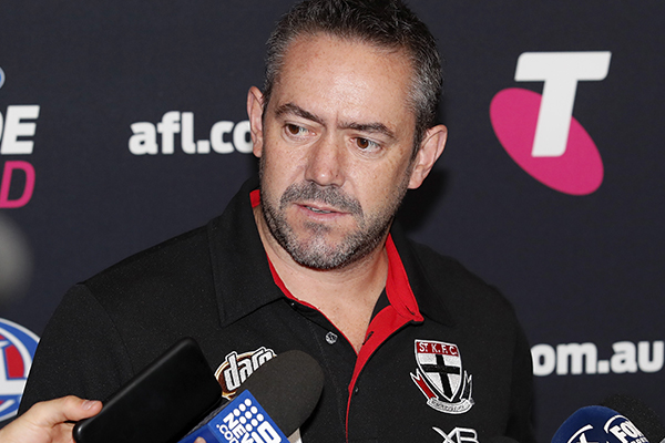 Article image for St Kilda footy boss details brutal nature of COVID-19 enforced list cuts
