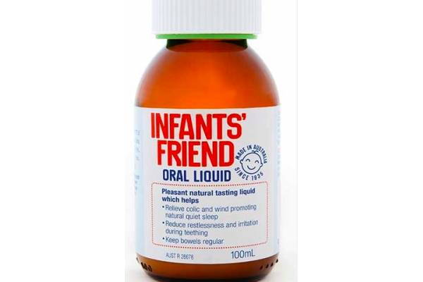 Well-known oral liquid used to relieve colic in babies recalled