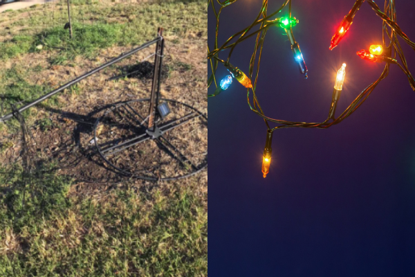 Article image for Heartless vandals ruin local Christmas lights display