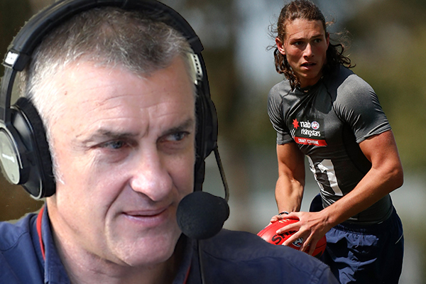 Article image for Tom Elliott addresses AFL hopeful's controversial draft request