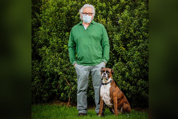 Article image for Neil Mitchell's heartfelt goodbye to his beloved dog Scallywag