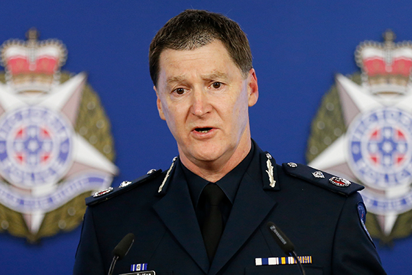 Article image for Top cop reveals 'absolutely huge' cost of the Lawyer X debacle