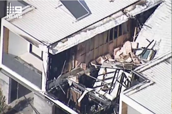 Article image for Three killed after fire engulfs a townhouse in Melbourne's west