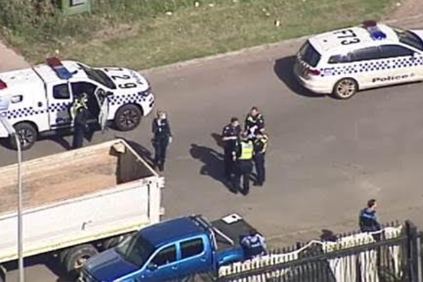 Article image for Elderly man charged over worksite shooting in Melbourne's west