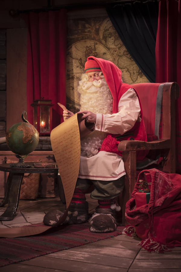 EXCLUSIVE interview with Santa Claus