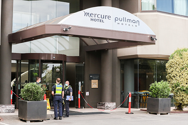 Article image for Hotel quarantine boss says rules for tennis players 'definitely' won't be relaxed