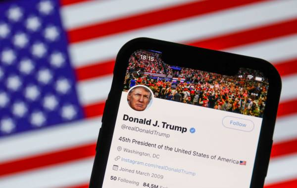 Article image for Donald Trump's social media ban a 'turning point'