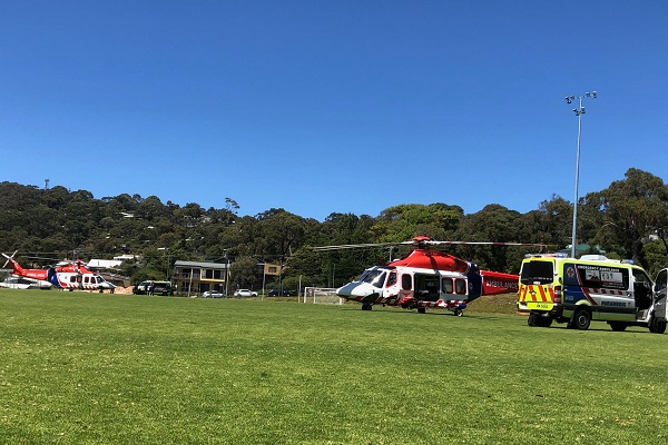 Article image for Two teenagers airlifted to hospital and more injured in collision on Great Ocean Road