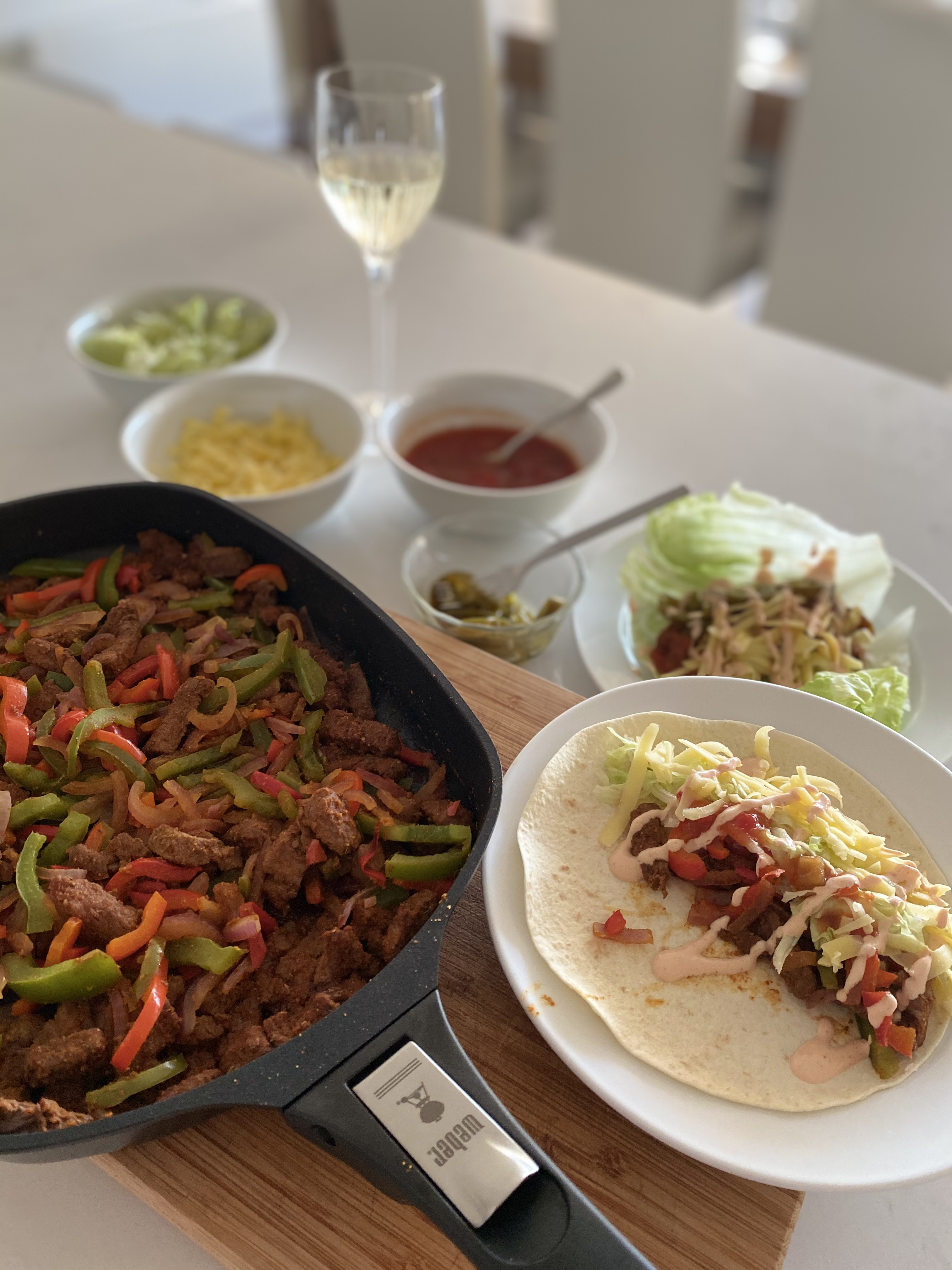 Geoff Maddern's recipe for the best fajitas you'll ever have