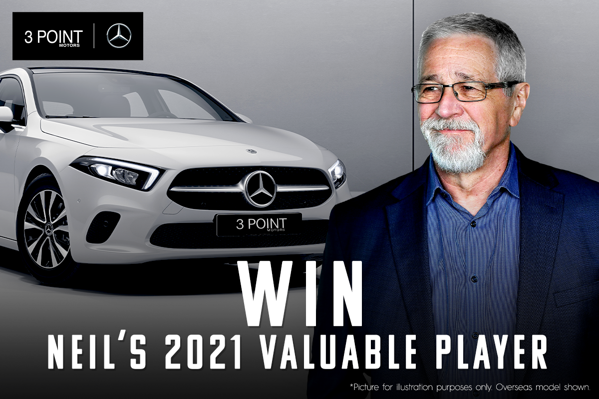 Want to be Neil's 2021 Valuable Player?