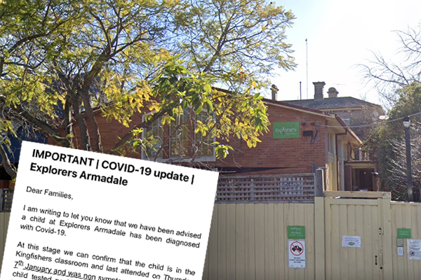 Article image for Melbourne childcare centre on high alert after child tests positive to COVID-19
