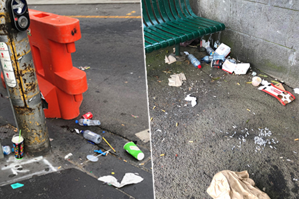 Article image for 'Grubby' Melbourne: Massive surge in rubbish and graffiti complaints reported to councils