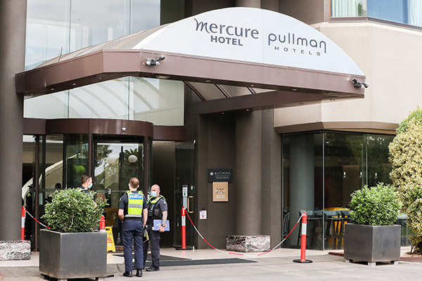 Article image for Tennis Australia to pay for hotel quarantine