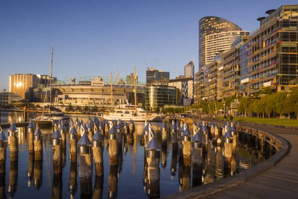 Article image for 'We need them back': Docklands business owners' plea