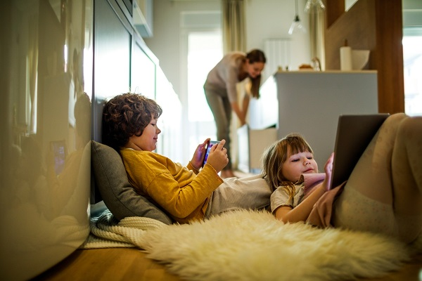 Article image for Why increased screen time for kids may not be all that bad