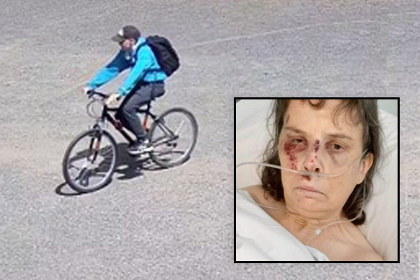 Article image for VIDEO: Woman kicked in the back in sickening Melton attack