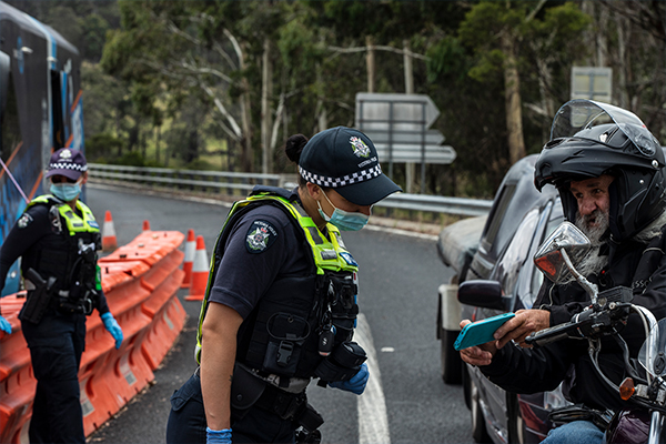 Article image for Police to pursue unpaid COVID-19 fines