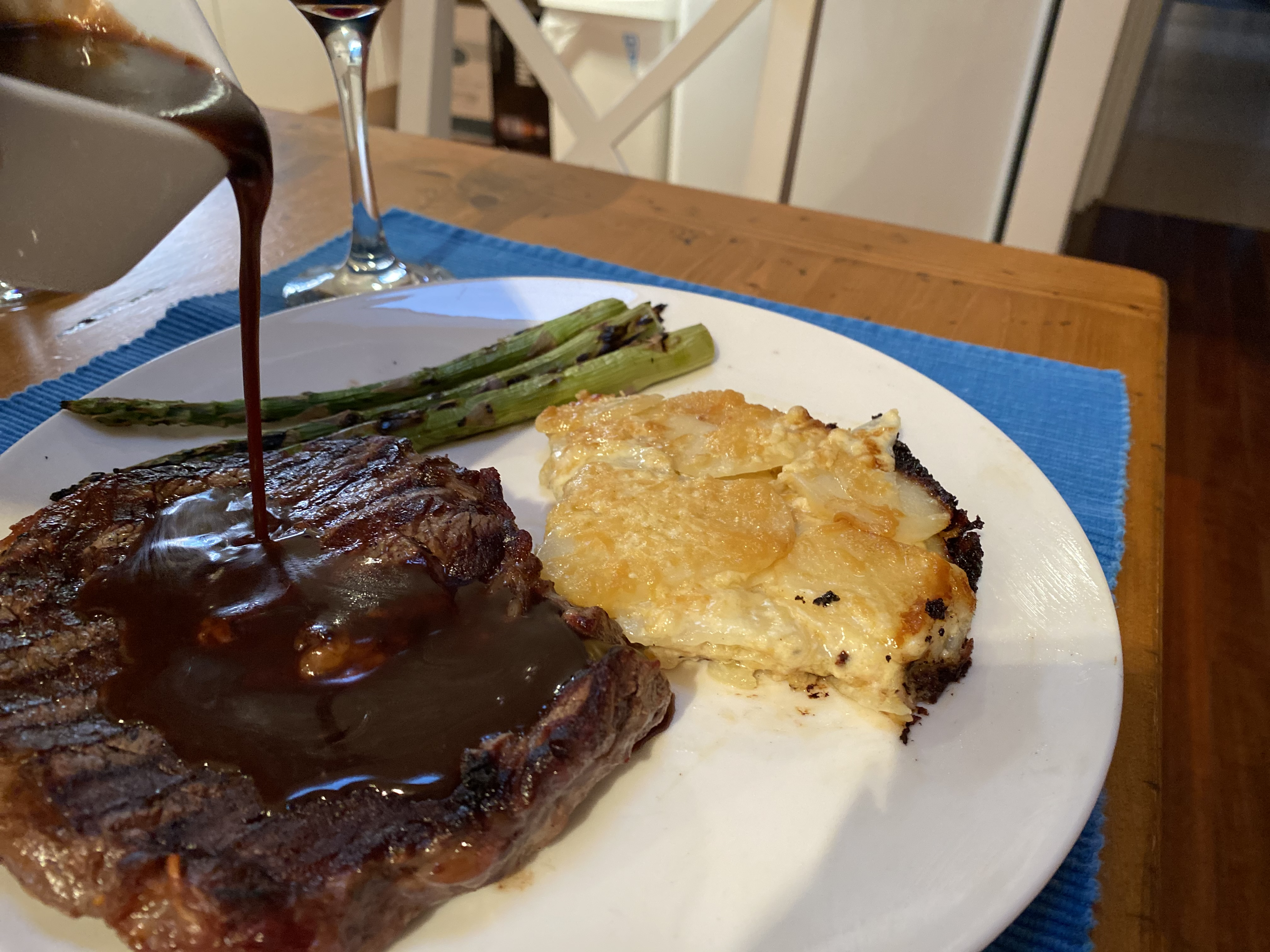 Article image for Geoff Maddern's recipe for the classic scotch fillet