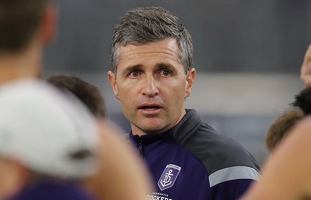 Article image for Why Fremantle's coach is optimistic about season 2021