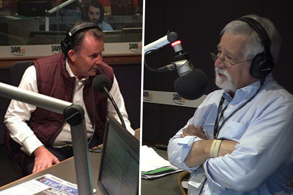 Article image for Neil Mitchell and Tony Jones clash over what needs to happen at Collingwood