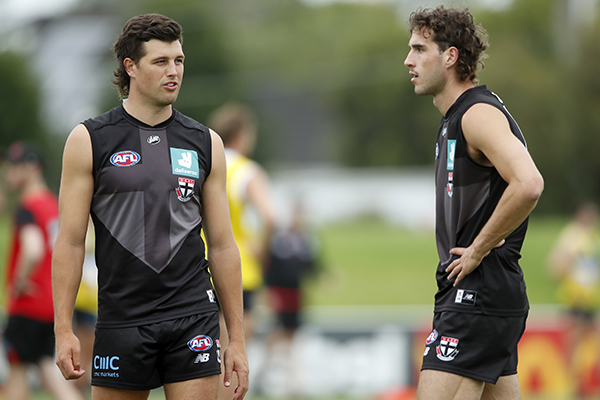 Article image for St Kilda big man to 'miss the start of the season' with stress injury