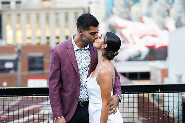 Article image for Melbourne couple's last minute scramble to save their wedding