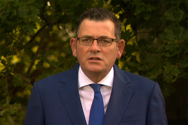 Article image for COVID-19: 'Good news' as Daniel Andrews announces new testing sites