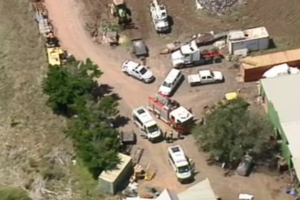 Article image for Man dead after chemical explosion in Melbourne's west